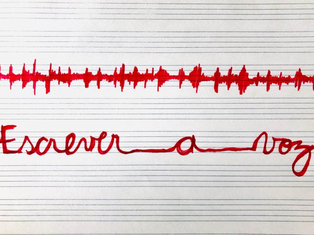 Escrever a voz_online